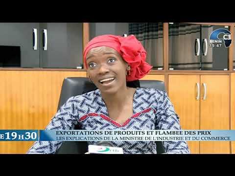 CANAL3-BENIN : Journal Télévisé 19H30 du Lundi 05 Juillet 2021 avec Thanguy AGOI