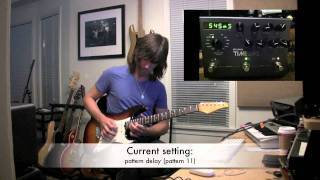 Strymon Timeline Delay, demo by Pete Thorn