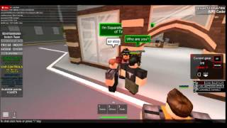 Roblox TRC patrol episode 1 - pursuit and people resisting arrest