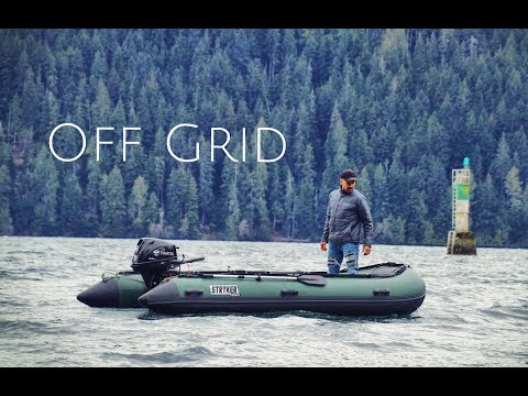 Best Inflatable Boat | Stryker Hunter Jet 420 | Living Off Grid - Boat Access Only