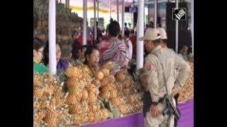 India News (16 Jul, 2013) - Hundreds throng pineapple festival in northeastern India