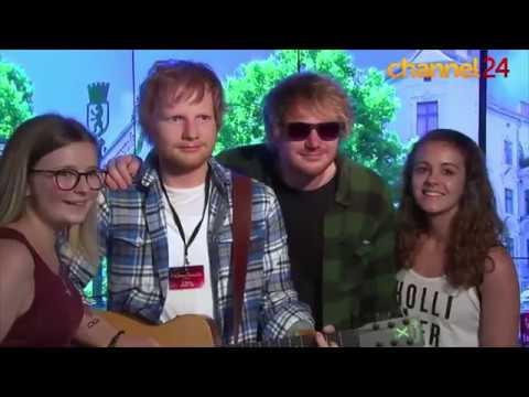 Fake Ed Sheeran fools fans in Berlin