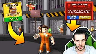 NO ESCAPE FROM THIS PRISON WITHOUT ROBUX / Roblox Prison Escape Simulator / Roblox Turkish/Game Line