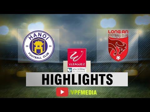 Long An cầm hòa Hà Nội B trong trận cầu 4 bàn thắng | VPF Media