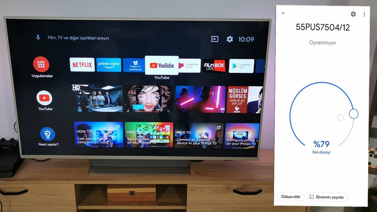 Philips tv ekran yansıtma // PHİLİPS TV SCREEN MİRRORİNG