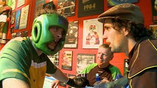 Ireland Vs Australia boxing bout