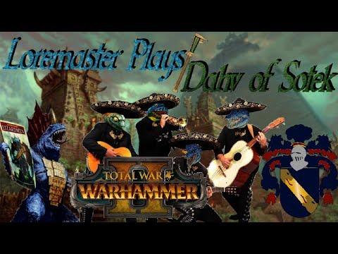 Team Hola Skinks vs Adolphus-Barca League | Total War: Warhammer II 2v2 Tournament - Opening Round