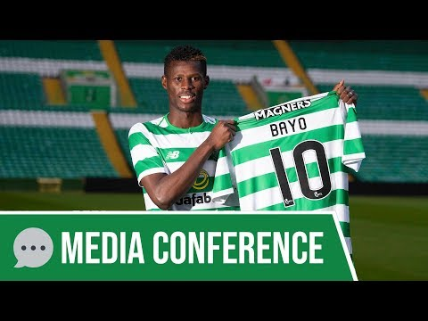 💬 Media Conference: Bayo signs for Celtic