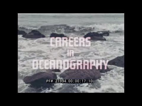 1965 U.S. NAVY  CAREERS IN OCEANOGRAPHY  RECRUITMENT FILM  21994