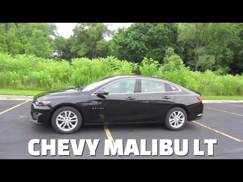 2018 Chevy Malibu LT with a moonroof || detailed review and test drive