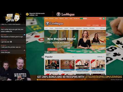 LIVE CASINO GAMES - You Pick Slots On New !nitro Casino !feature For €€€ 🥰🥰 (24/02/20)