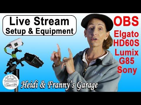 Stream to YouTube Live (Multi-Camera) OBS Studio
