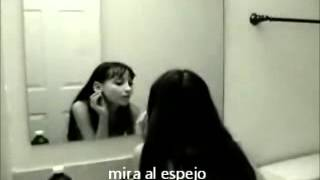 Terror el fantasma del espejo (demonio) !  -1