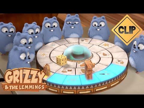 Grizzy Affronte Les Lemmings Au Jumanji ! - Grizzy & Les Lemmings