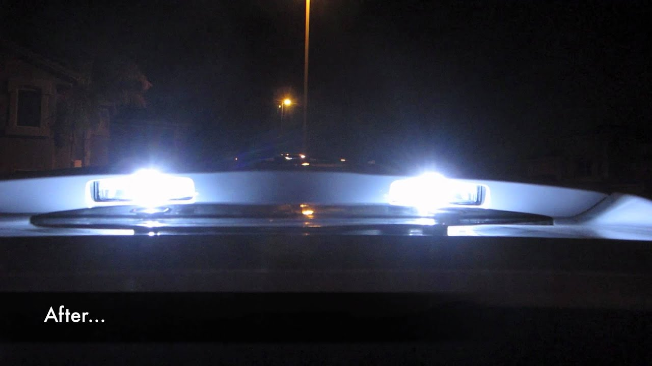 2011 Toyota Camry Led Interior Lights And Ddm Hid Kit