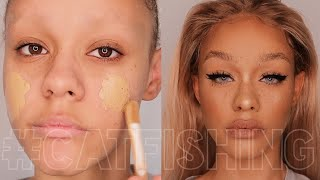 CATFISHING LVL 100 TUTORIAL... how to be a bronzed queen