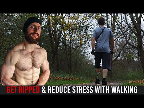 Health & Muscle-building benefits of Walking
