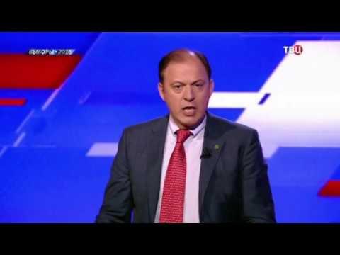 Дебаты. Митволь спрашивает Дмитриеву о второй депутатской квартире