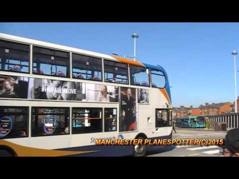 Stagecoach Manchester Bus Spotting At Wigan Bus Station On The 01/10/2015