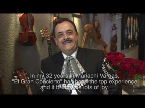 Mariachi Vargas - El Gran Concierto Interviews - Daniel Martínez