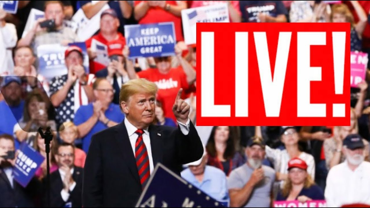 GST  LIVE: President Donald Trump MASSIVE Rally in Fayetteville North Carolina