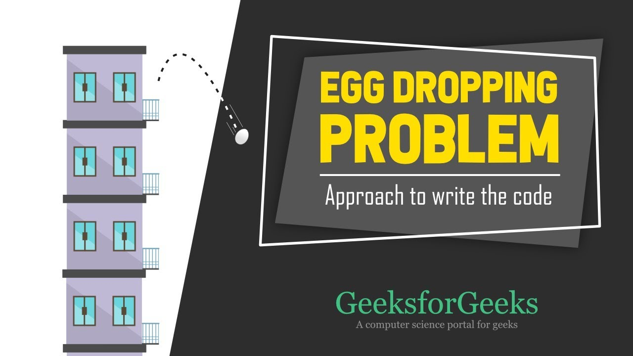 Egg Dropping Puzzle | DP-11 - GeeksforGeeks