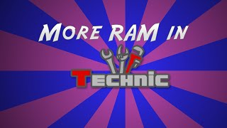 How to Allocate m๐re RAM to Technic Launcher | 2016
