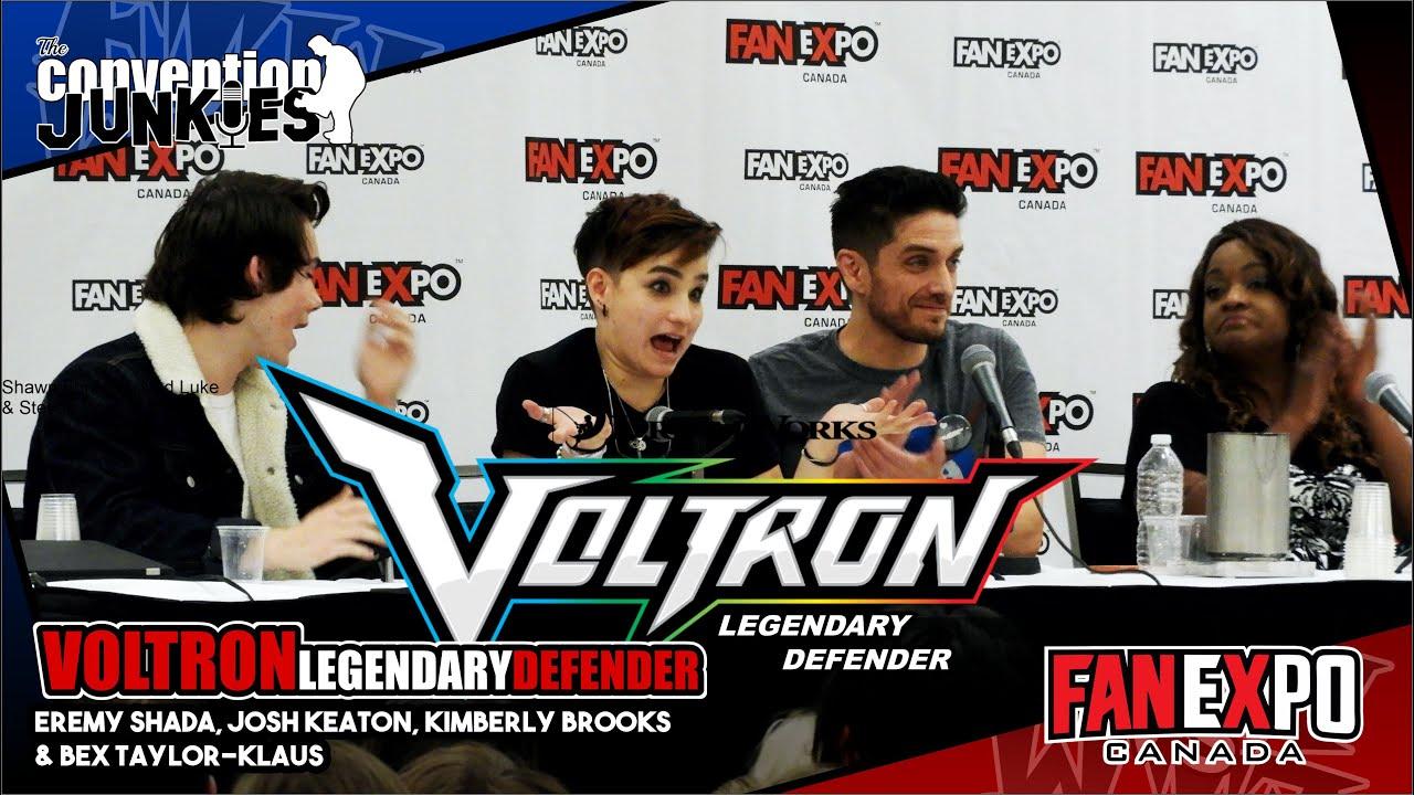 Download Voltron: Legendary Defender Cast Fan Expo Canada 2018 Full Panel