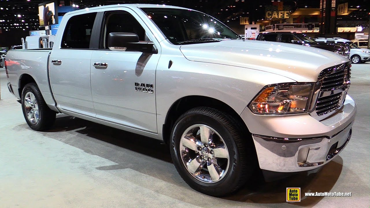 2016 ram 1500 big horn exterior and interior walkaround 2016 chicago auto show youtube. Black Bedroom Furniture Sets. Home Design Ideas