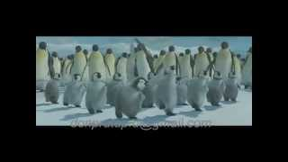 Funny Penguins Party Dancing from Tamil song-Animation Remix