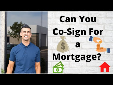can-you-co-sign-for-a-mortgage?