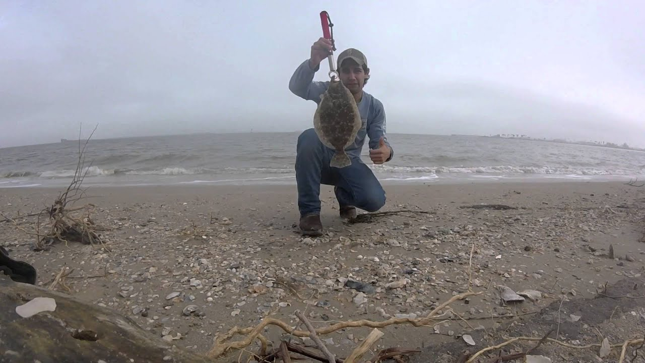 Flounder fishing pelican island galveston tx gopro hero for Flounder fishing galveston