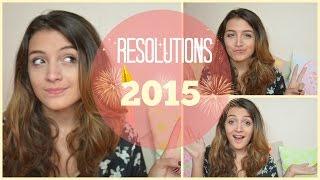 Mes résolutions 2015 :) Thumbnail