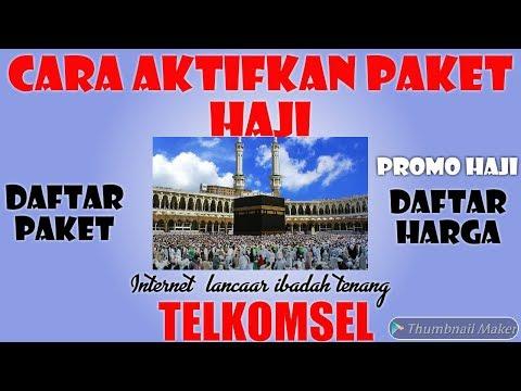 Promo Paket Telkomsel Ibadah Umroh.
