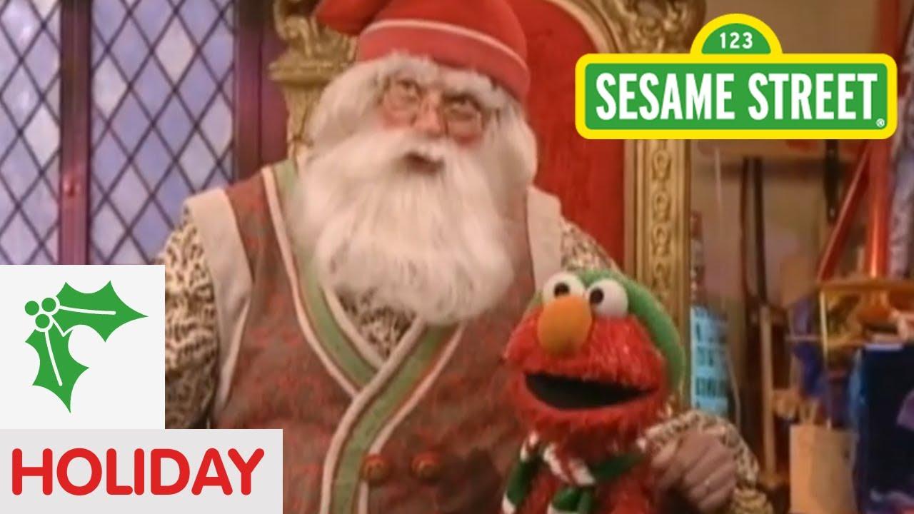 Sesame Street: Elmo Visits Santa - YouTube