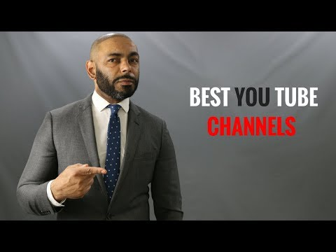 Top 10 Best Men's Style YouTube Channels/My Favorite Men's Style Channels