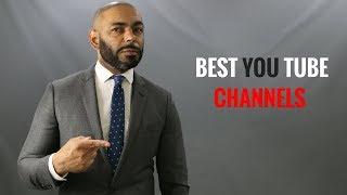 Top 10 Best Men's Style YouTube Channels/My Favorite Men's Style Channels