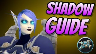 Shadow Priest PvE Guide 8.0.1 | Talents & Rotation & Stats | World of Warcraft Battle for Azeroth