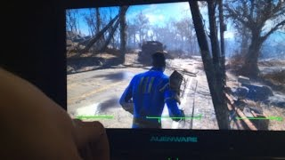 Fallout 4 on Alienware M14x R2 GeForce GT 650M