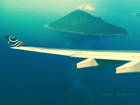 Landing to Manado by Batavia Air