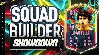 TWO PLAYER Squad Builder Showdown!!! JOAO FELIX!!! Fifa 20 2vs2 Squad Builder Showdown