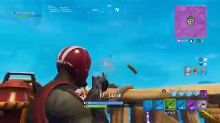 Fortnite Battle Royale // He tried to get a sexy clip // Solo win