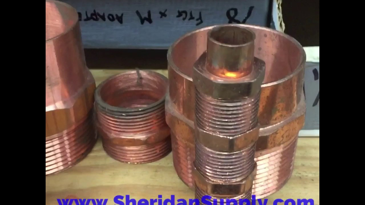 Mueller Copper Fittings American Made - SheridanSupply com