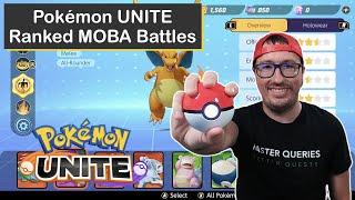 Playing as Tank Pokémon on Pokémon UNITE for Nintendo Switch