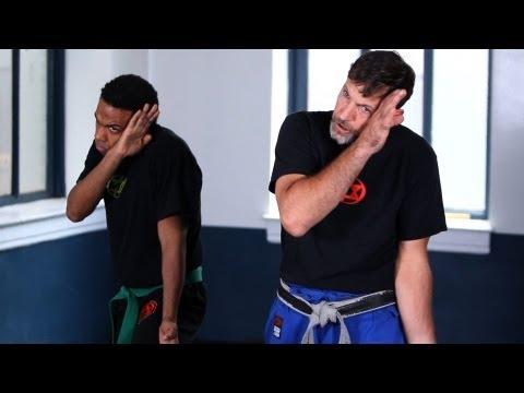 How to Defend against a High Side Stick | Krav Maga Defense