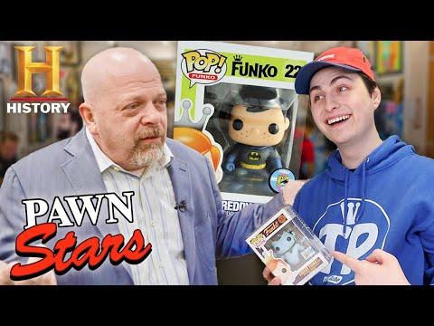 $3000 Funko Pops on Pawn Stars!