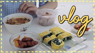 우당탕탕 자취요리 브이로그/ 쓱배송, 홈카페, 원피스 …