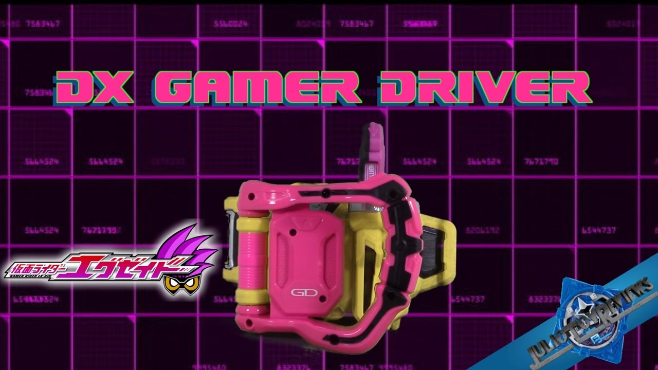 Kamen Rider Ex-Aid DX Gamer Driver Review (JulioToyReviews ...