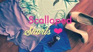 Cómo hacer tus shorts con Ondas (scallops) | ZOE Versión #1