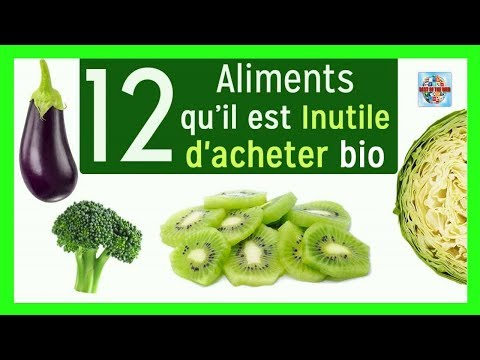 Voici 12 aliments qu'il est inutile d'acheter bio